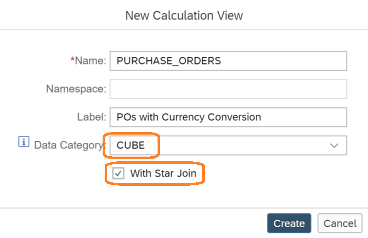 Create Cube Graphical Calculation View – Tiven's Blog