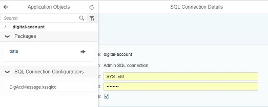 Maintain SQL Connection Configuration