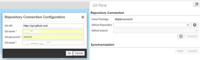 Synchronize with Github